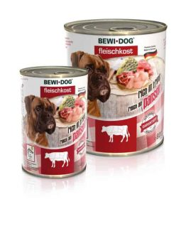 Bewi. Dog Rich in Tripe canned wet dog food