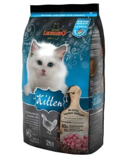 Leornado Kitten Dry Cat Food for Young Cats and Kittens