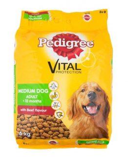 Pedigree-with-Beef-Flavour-Adult-Medium-Dog-Food-6Kg