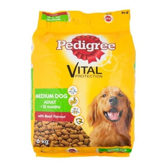 Pedigree-with-Beef-Flavour-Adult-Medium-Dog-Food-6Kg