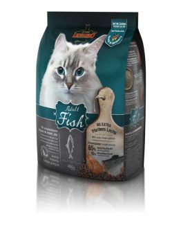leornado adult fish dry cat food