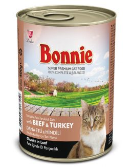 Bonnie Beef & Turkey adult cat food