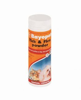 bayopet tick and flea powder