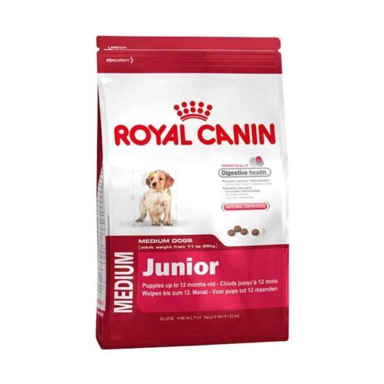 royal canin medium junior dog food