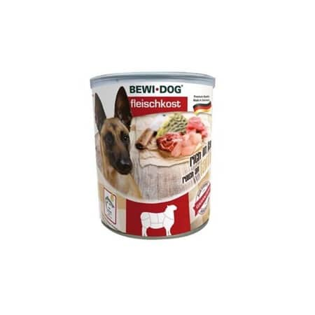 Bewi Dog Canned Wet Dog Food Rich in Lamb
