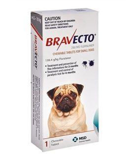 Bravecto 4.5kg - 10kg