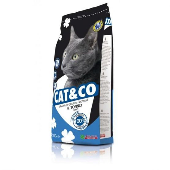 Cat and co dry cat food tuna
