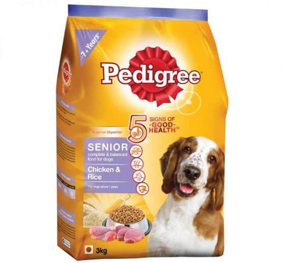 Pedigree Senior with Chicken & Rice