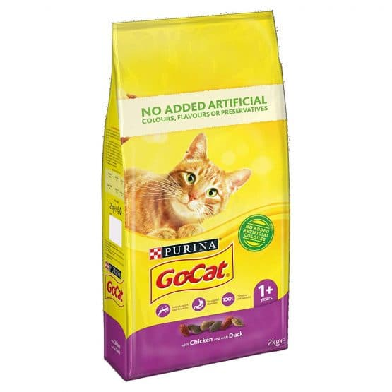 Purina Go-Cat Adult Cat Food (Chicken and Duck)