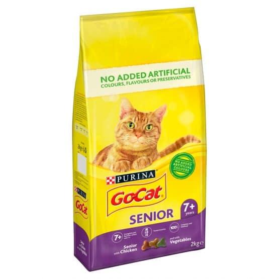 purina go cat senior cat food