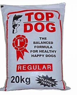 top dog regular dog food 20kg