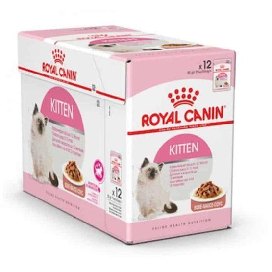 Royal Canin Instinctive Wet Kitten Food in gravy