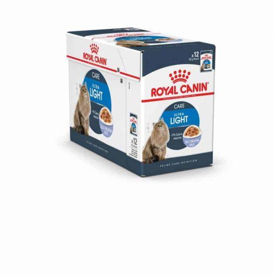 Royal Canin Ultra Light Wet Cat Food (Jelly / Gravy)